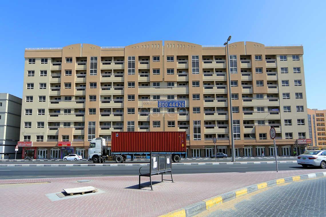 Retail Shops for Rent in Mowaileh Sharjah - GGICO Building Muwaileh